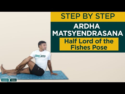 Ardha Matsyendrasana (Half Lord of the Fishes Pose)
