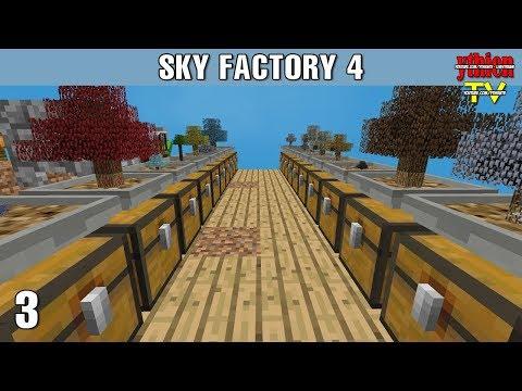 Sky Factory 4 03 - Những Cây Cơ Bản - Thời lượng: 36 phút.