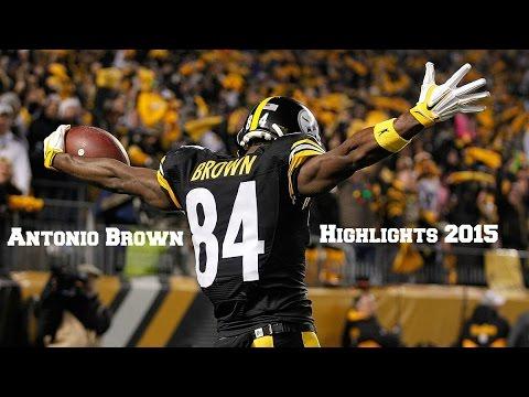 Antonio Brown 2015 Highlights | HD