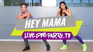 Hey Mama [AUDIO MUTED DUE TO COPYRIGHT CLAIM] | Zumba® Choreo by Prince Paltu-ob | Live Love Party