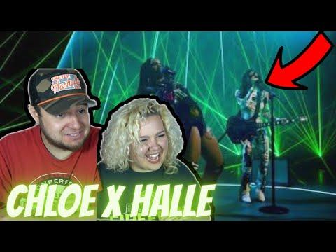 "Chloe x Halle ""ROYL"" - Global Goal Concert | COUPLE REACTION VIDEO"