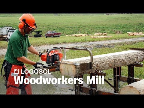 Woodworkers Mill | Portable Sawmill | LOGOSOL
