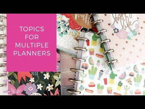 Topics For Multiple Planners