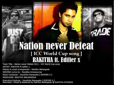 Nation Never Defeat (Icc Cricket Theme Song) - Rakitha Ft Dj Edifire X .Mp4 (видео)