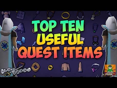 OSRS Top Ten Useful Quest Items
