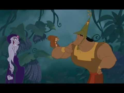 kronk - Kronk with the Squirrel - The Emperor's New Groove. Buy it on iTunes. Great movie: http://itunes.apple.com/us/movie/the-emperors-new-groove/id206329594.