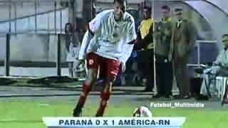 Paraná 0:1 América/RN - Brasileirão 2010 - 2ª divisão - 15ª Rodada