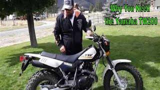 1. 2020 Yamaha TW200 Review
