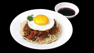 Món Ngon Mỗi Ngày - Mì Ý xào thịt bò băm