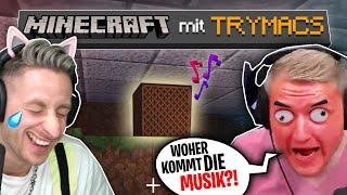TRYMACS wird getrollt, bis er AUSRASTET! Minecraft mit Trymacs!