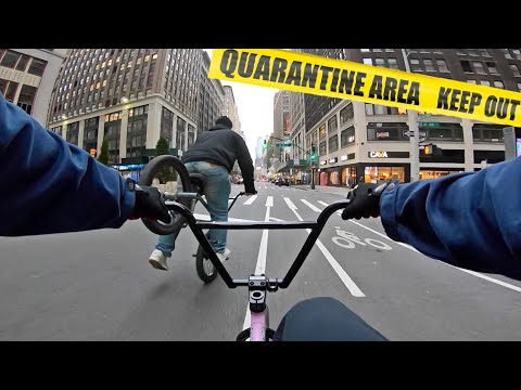 GoPro BMX Bike Riding NYC on LOCKDOWN