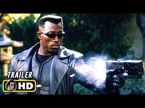 BLADE (1998) New 4K Release Trailer [HD] Marvel Vampire Movie