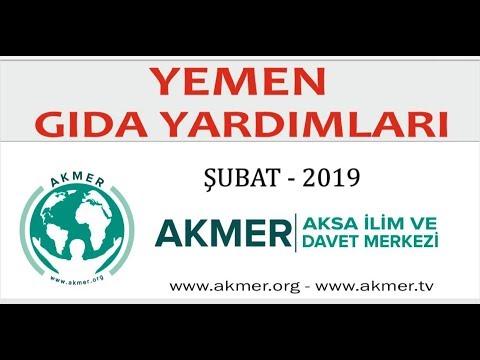 YEMEN Yardım Çalışması 2019