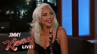 "Video Lady Gaga on Oscar Win & Being ""In Love"" with Bradley Cooper MP3, 3GP, MP4, WEBM, AVI, FLV Juli 2019"