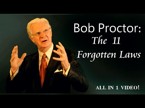 The 11 Forgotten Laws: Law Of Attraction & Vibration (Bob Proctor)