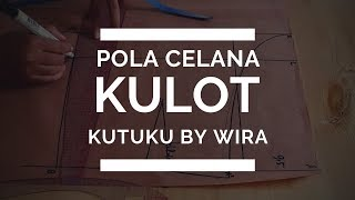 Video Cara Membuat Pola Celana Kulot MP3, 3GP, MP4, WEBM, AVI, FLV September 2018