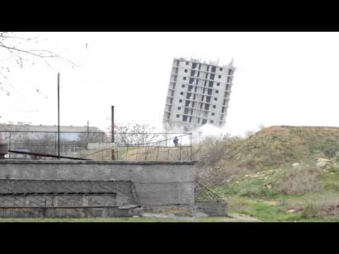 Sevastopol. Unsuccessful controlled explosion