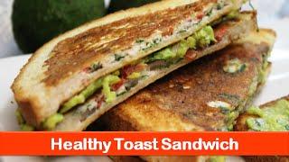 Healthy Sandwich Food Ideas|egg White Avocado Brunch Recipe|easy Breakfast Recipes-let's Be Foodie
