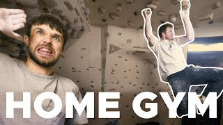 Ultimate home wall tour    Brush making with Silly Goat by Bouldering Bobat