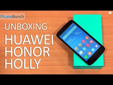 Huawei Honor Holly Unboxing and First Impressions