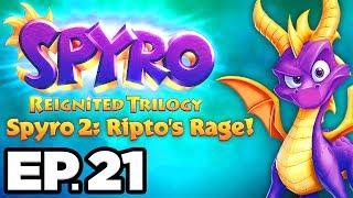 Spyro 2: Ripto's Rage Ep.21 - 100% THE GAME, METROPOLIS!!! (Reignited Trilogy Gameplay / Let's Play)