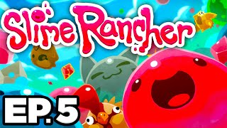 •️ RADIOACTIVE & PUDDLE SLIME, RAD SLIME GORDO, OVERGROWTH - Slime Rancher Ep.5 (Gameplay Lets Play)