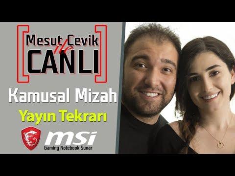 Mesut Çevik ile Canlı   Konuk: Kamusal Mizah