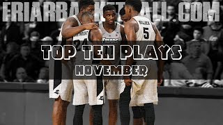 Top 10 Plays of November