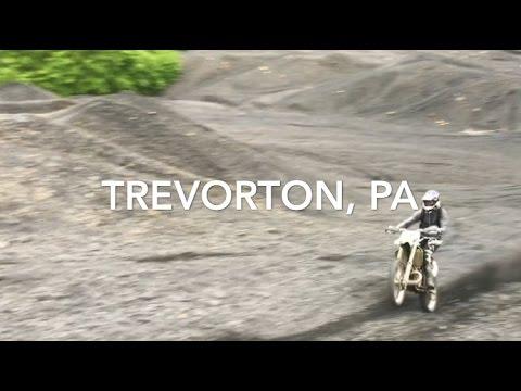 Trevorton, PA 2017 - KX 250 & Scrambler 850 Hillclimbs