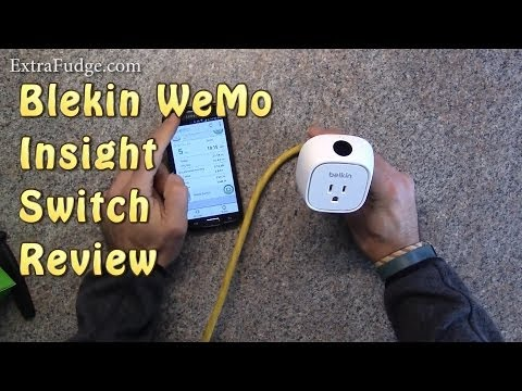 Belkin WeMo Insight Switch Review (With Energy Use Monitor)