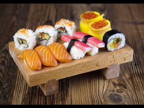 here is a method really special to prepare the sushi!