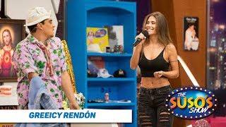 Greeicy le enseña a bailar a Suso - Greeicy Rendón en The Suso's Show