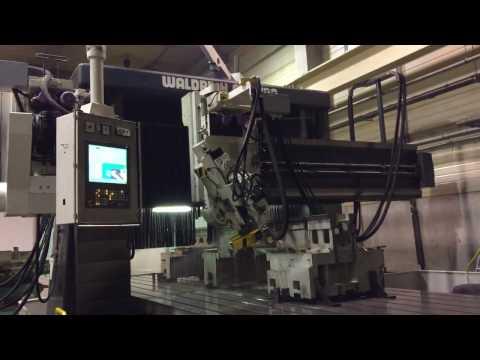 Плоскошлифовальный станок WALDRICH COBURG с ЧПУ NCT201