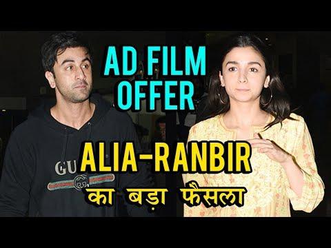 Ranbir Kapoor And Alia Bhatt Say NO To Brand Endor