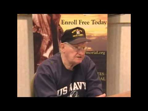 U.S. Navy Memorial interview of Thomas James Mehaffey