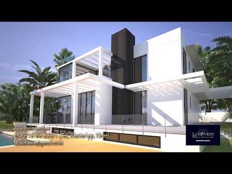 Стильная вилла в Бенидорме! Дом премиум класса в Ла Нусия - на финальной стадии строительства!