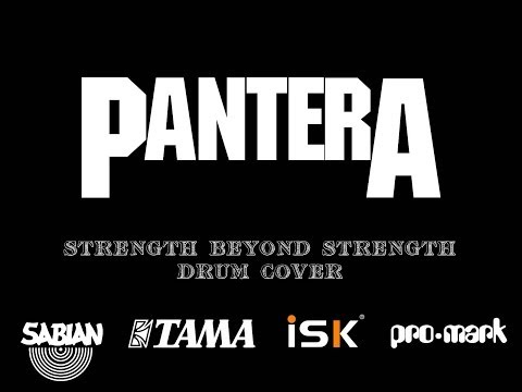 Pantera - Strength Beyond Strength Drum Cover (видео)