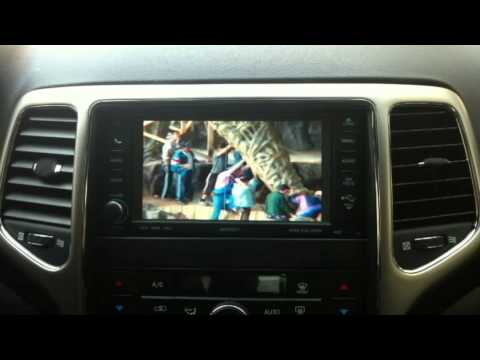 Chrysler VES - Grand Cherokee 2013 Navigation system