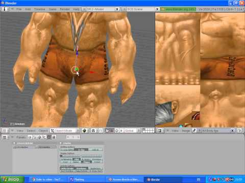 Tutoriales Blender: Como Importar Modelos Del World Of Warcraft