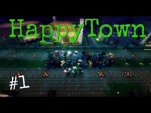 Играем на Happy Town (Серия 1)