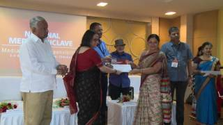Certificate Presentation - National Media Conclave 2017 - Video Report