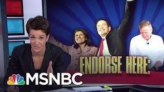 Jeb Bush Aims Low, Ted Cruz Surprises In New Poll | Rachel Maddow | MSNBC