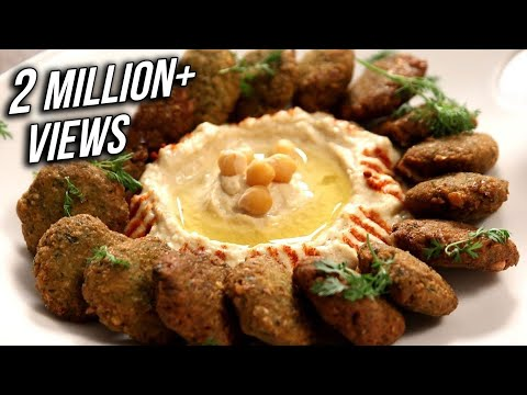 How To Make Falafel And Hummus | Middle Eastern Delicacy | The Bombay Chef – Varun Inamdar