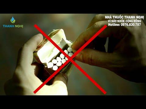 Cai thuốc lá trong 3 ngày