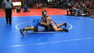Collin Braun W'burg vs Ben Powers Mt Carmal 285 lbs
