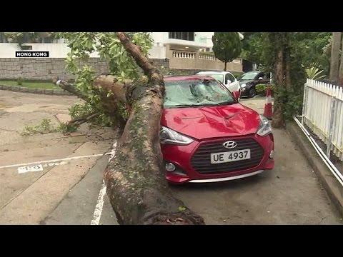 Καταστροφικό το πέρασμα του τυφώνα Χαϊμά από την ανατολική Ασία