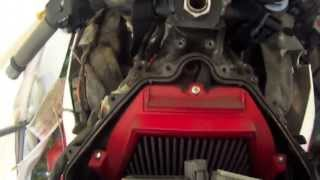 5. How to Access air filter on Honda CBR 600 RR