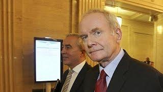 Северная Ирландия: Мартин Макгиннес уходит из политики