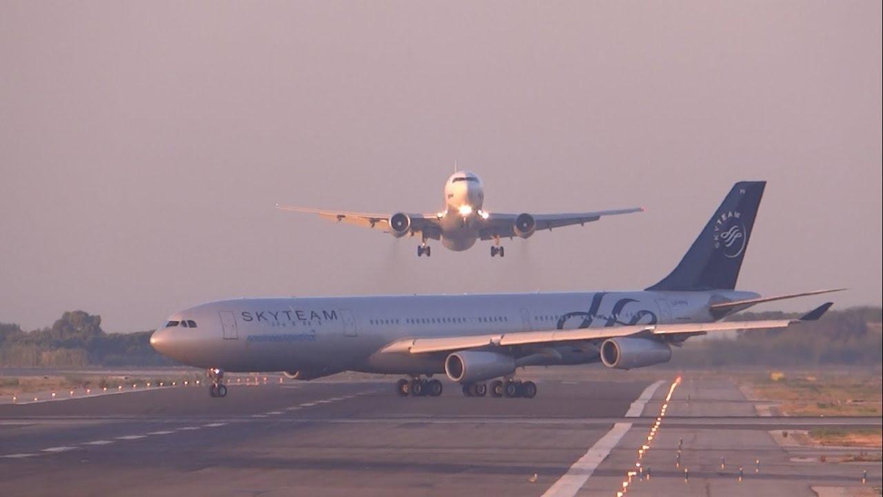 Sudar aviona jedva izbegnut