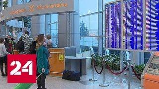 Из-за снегопада в Москве отменены десятки рейсов